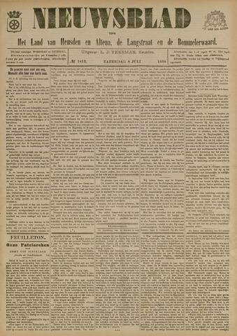 Nieuwsblad het land van Heusden en Altena de Langstraat en de Bommelerwaard 1899-07-08
