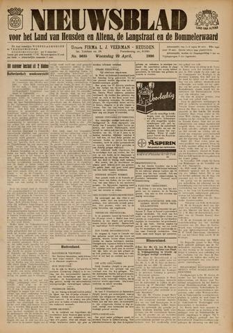 Nieuwsblad het land van Heusden en Altena de Langstraat en de Bommelerwaard 1936-04-22
