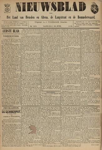 Nieuwsblad het land van Heusden en Altena de Langstraat en de Bommelerwaard 1895-06-29