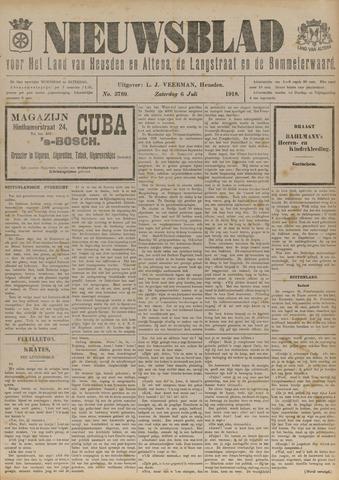 Nieuwsblad het land van Heusden en Altena de Langstraat en de Bommelerwaard 1918-07-06