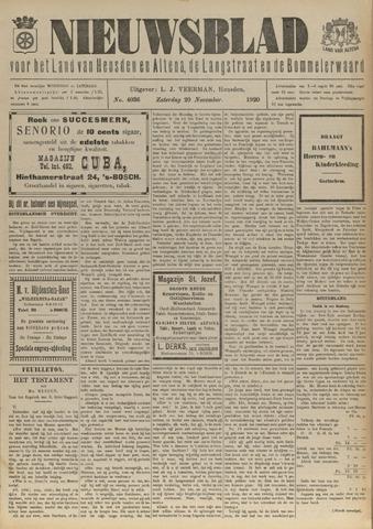 Nieuwsblad het land van Heusden en Altena de Langstraat en de Bommelerwaard 1920-11-20