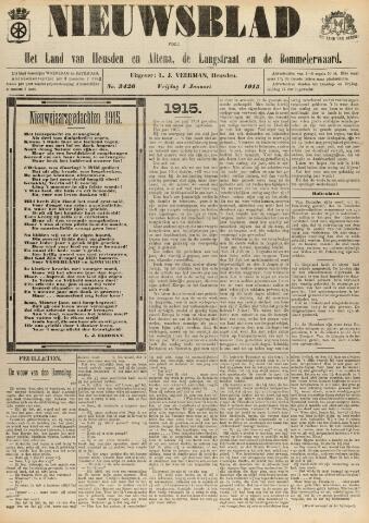Nieuwsblad het land van Heusden en Altena de Langstraat en de Bommelerwaard 1915-01-01