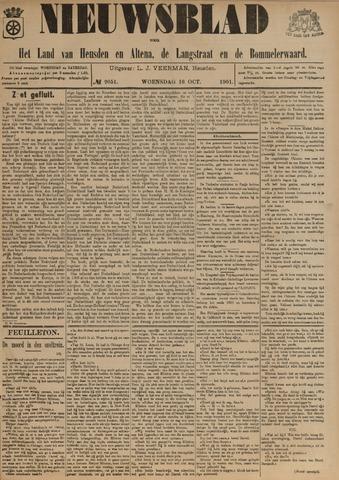 Nieuwsblad het land van Heusden en Altena de Langstraat en de Bommelerwaard 1901-10-16