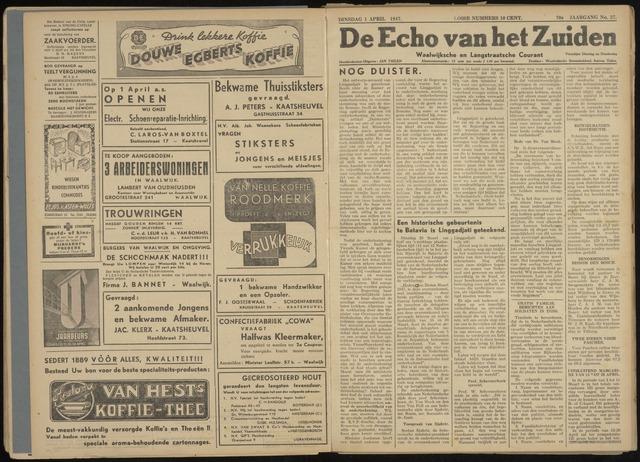 Echo van het Zuiden 1947-04-01