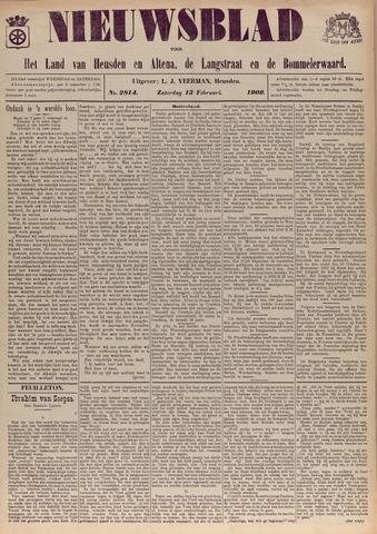 Nieuwsblad het land van Heusden en Altena de Langstraat en de Bommelerwaard 1909-02-13