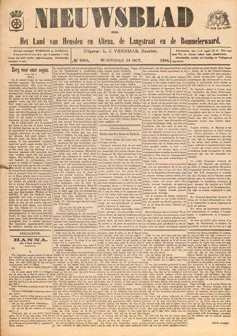 Nieuwsblad het land van Heusden en Altena de Langstraat en de Bommelerwaard 1904-10-19