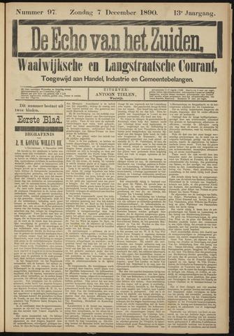 Echo van het Zuiden 1890-12-07