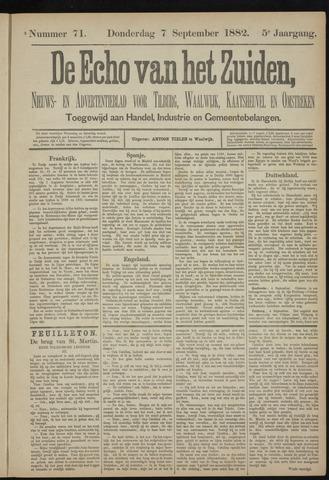 Echo van het Zuiden 1882-09-07