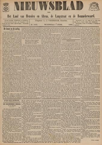 Nieuwsblad het land van Heusden en Altena de Langstraat en de Bommelerwaard 1900-02-07
