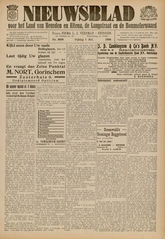 Nieuwsblad het land van Heusden en Altena de Langstraat en de Bommelerwaard 1936-05-01