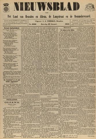 Nieuwsblad het land van Heusden en Altena de Langstraat en de Bommelerwaard 1913-01-25