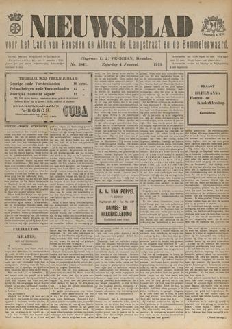 Nieuwsblad het land van Heusden en Altena de Langstraat en de Bommelerwaard 1919-01-04