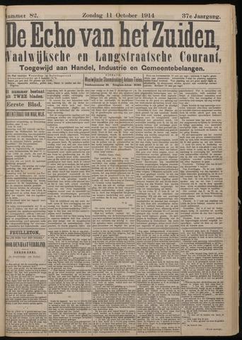 Echo van het Zuiden 1914-10-11