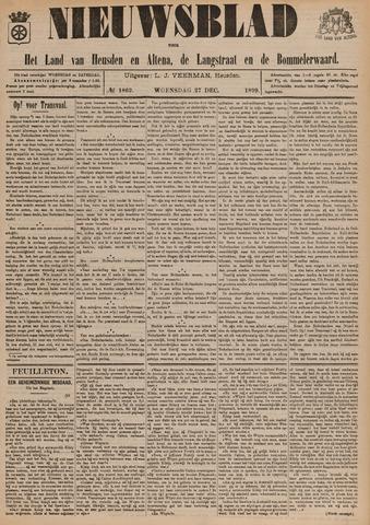 Nieuwsblad het land van Heusden en Altena de Langstraat en de Bommelerwaard 1899-12-27
