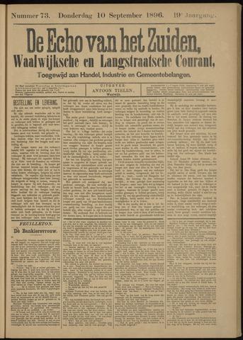 Echo van het Zuiden 1896-09-10