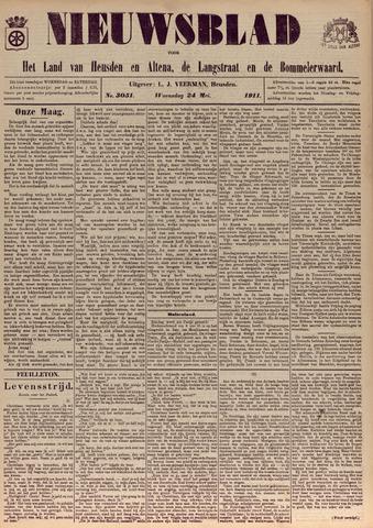Nieuwsblad het land van Heusden en Altena de Langstraat en de Bommelerwaard 1911-05-24