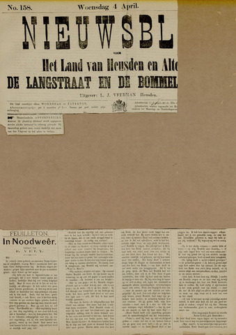 Nieuwsblad het land van Heusden en Altena de Langstraat en de Bommelerwaard 1883-04-04