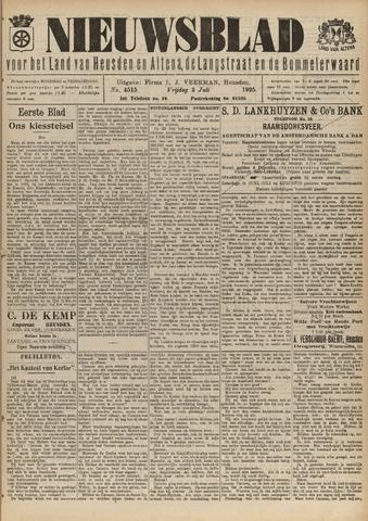 Nieuwsblad het land van Heusden en Altena de Langstraat en de Bommelerwaard 1925-07-03