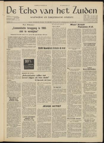 Echo van het Zuiden 1963-01-20