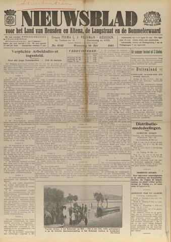 Nieuwsblad het land van Heusden en Altena de Langstraat en de Bommelerwaard 1941-05-28