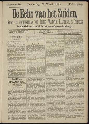 Echo van het Zuiden 1888-03-29