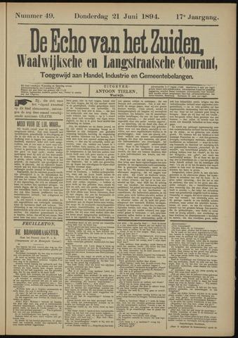 Echo van het Zuiden 1894-06-21