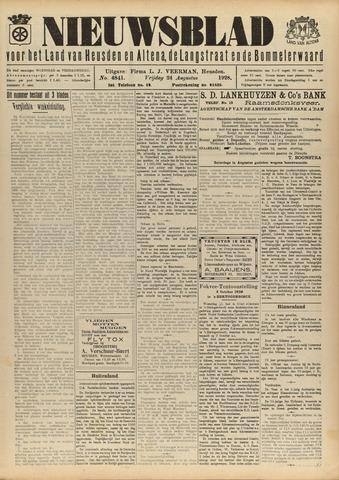 Nieuwsblad het land van Heusden en Altena de Langstraat en de Bommelerwaard 1928-08-24
