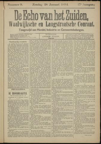 Echo van het Zuiden 1894-01-28