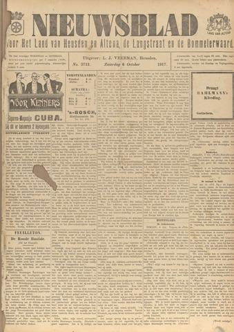 Nieuwsblad het land van Heusden en Altena de Langstraat en de Bommelerwaard 1917-10-06
