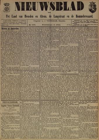 Nieuwsblad het land van Heusden en Altena de Langstraat en de Bommelerwaard 1894-07-11