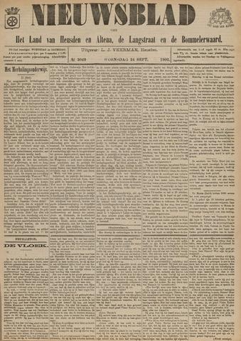 Nieuwsblad het land van Heusden en Altena de Langstraat en de Bommelerwaard 1902-09-24