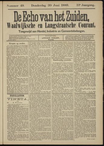 Echo van het Zuiden 1889-06-20