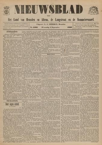 Nieuwsblad het land van Heusden en Altena de Langstraat en de Bommelerwaard 1906-09-05