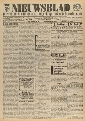 Nieuwsblad het land van Heusden en Altena de Langstraat en de Bommelerwaard 1930-08-22