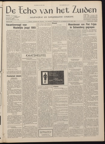 Echo van het Zuiden 1965-07-26