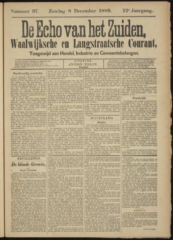 Echo van het Zuiden 1889-12-08