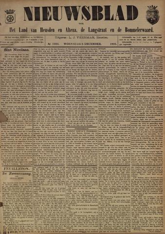 Nieuwsblad het land van Heusden en Altena de Langstraat en de Bommelerwaard 1893-12-06