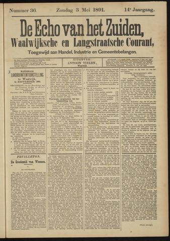 Echo van het Zuiden 1891-05-03