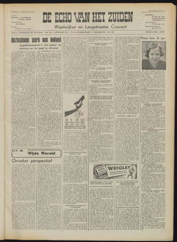 Echo van het Zuiden 1953-08-07