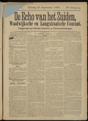 Echo van het Zuiden 1895-09-15