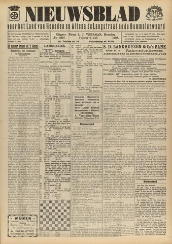 Nieuwsblad het land van Heusden en Altena de Langstraat en de Bommelerwaard 1928-07-06
