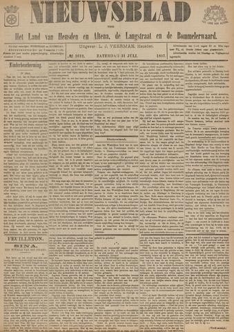 Nieuwsblad het land van Heusden en Altena de Langstraat en de Bommelerwaard 1897-07-31