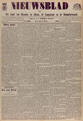 Nieuwsblad het land van Heusden en Altena de Langstraat en de Bommelerwaard 1910-03-09