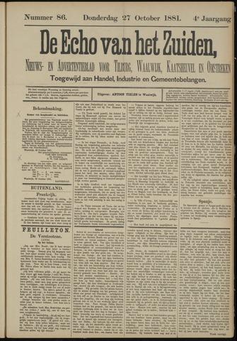 Echo van het Zuiden 1881-10-27