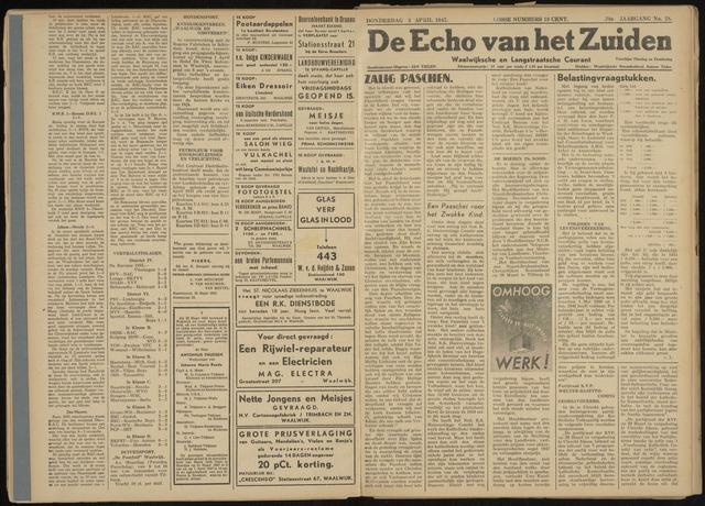 Echo van het Zuiden 1947-04-03