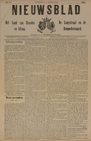 Nieuwsblad het land van Heusden en Altena de Langstraat en de Bommelerwaard 1888-09-05