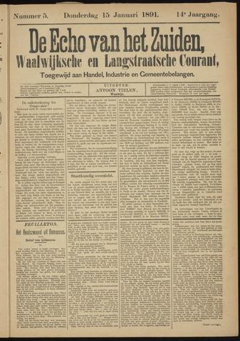 Echo van het Zuiden 1891-01-15