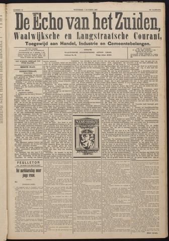 Echo van het Zuiden 1925-10-07