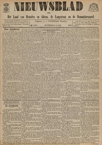 Nieuwsblad het land van Heusden en Altena de Langstraat en de Bommelerwaard 1901-01-09