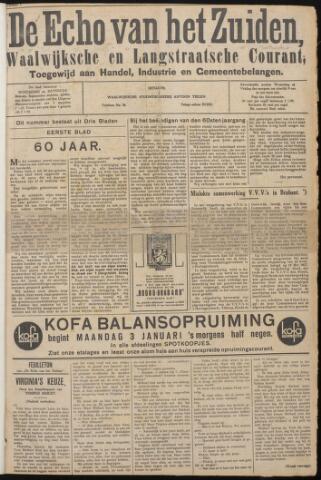 Echo van het Zuiden 1938-01-01